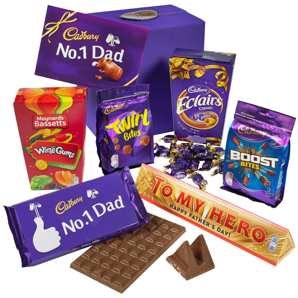 Father's Day chocolate gift from Cadburys