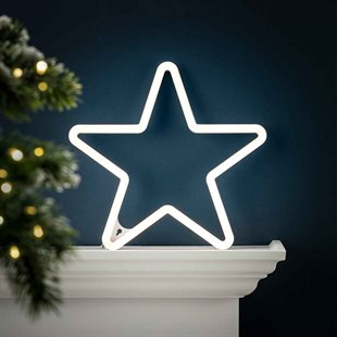 decorations neon star