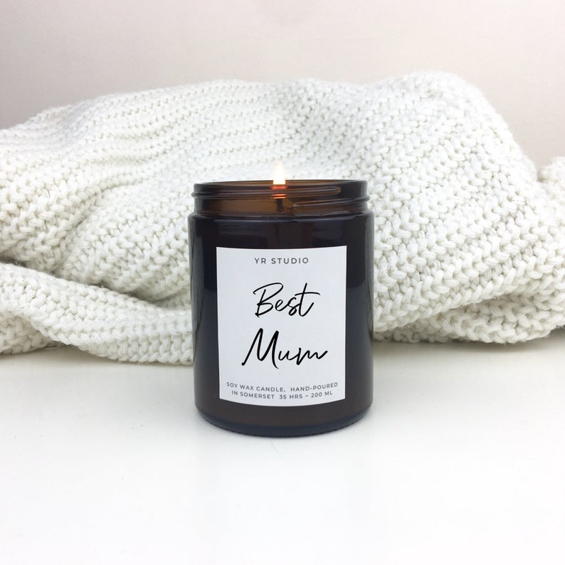 best mum candle gift from etsy