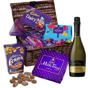 chocolate and prosecco hamper