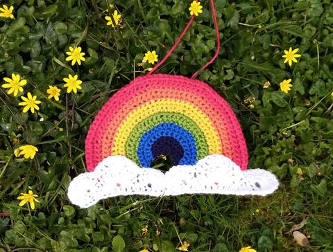 crochet kit rainbow