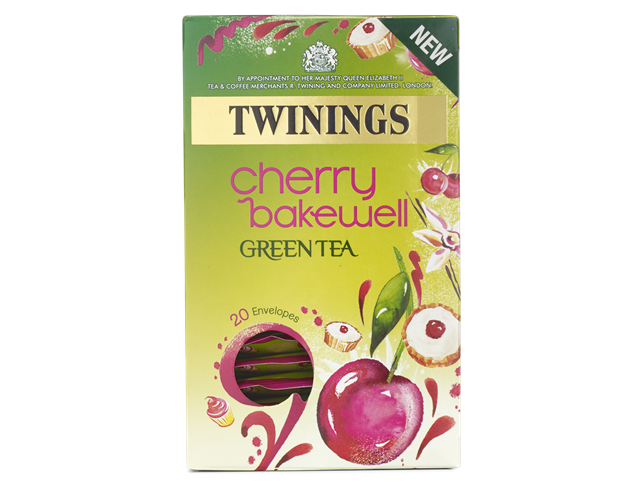 twinings cherry bakewell tea