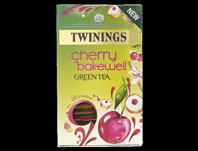 twinings cherry bakewell tea