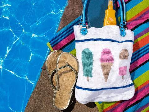 tote bag with nautical theme