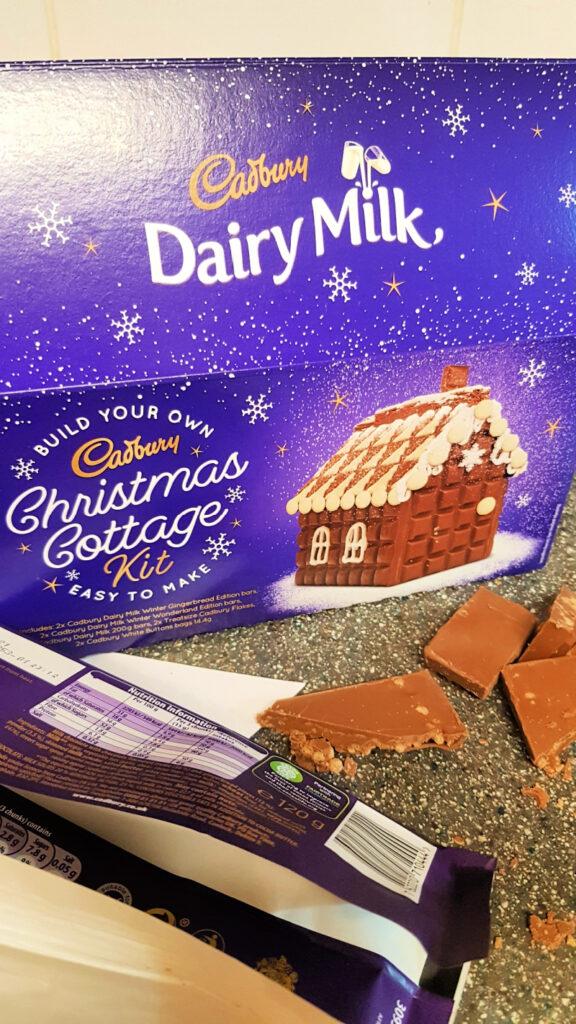 Cadburys Chocolate Christmas Cottage kit