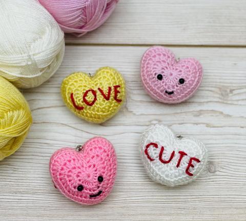 Cute sweetheart keyrings