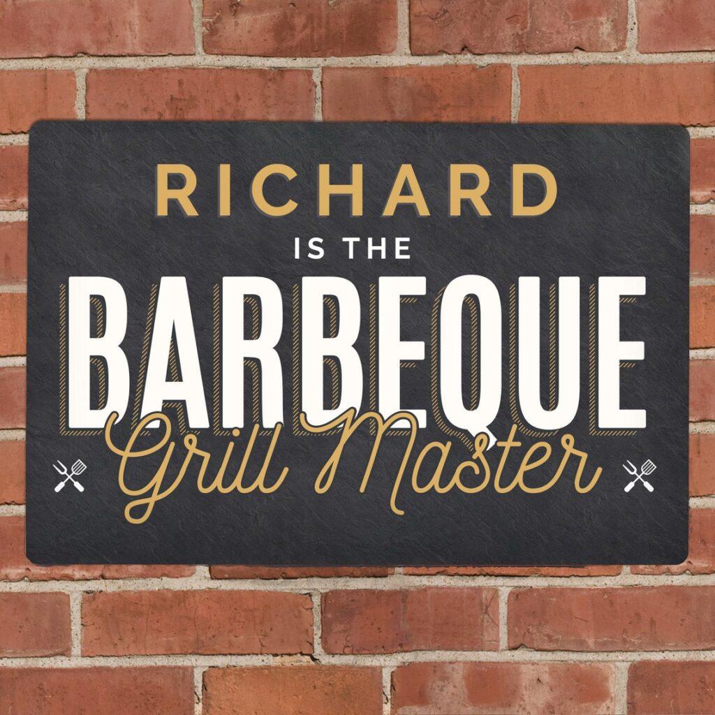 BBQ master wall sign