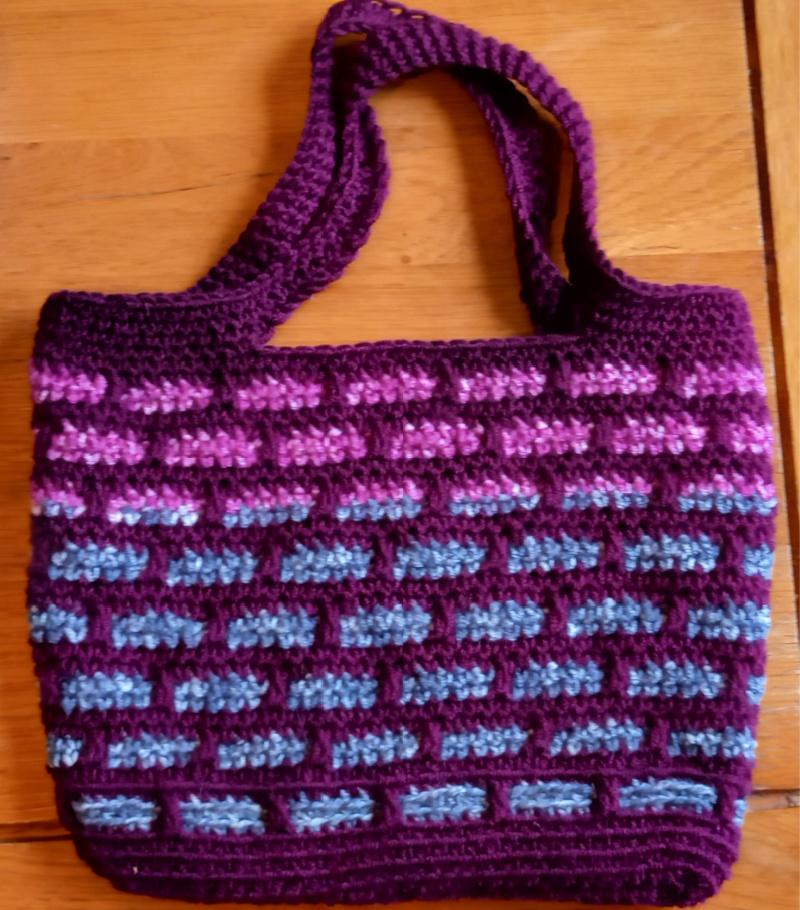 brick pattern little bag