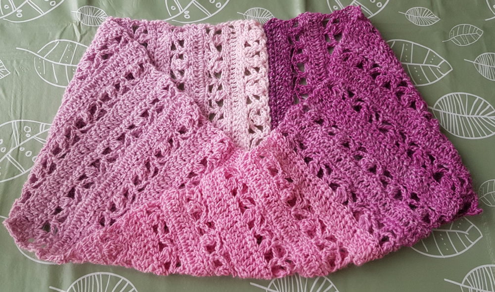 pink cowl, infinity scarf